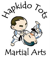 Hapkido Tots Martial Arts Summer Camps (Ages 3 to 5)
