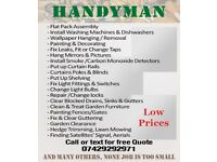 Handyman service, DIY, Repairs, Maintenance