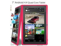 Pink and black tablet computer ( US Plug)