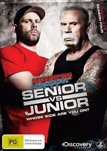 American Chopper Senior vs Junior: Season 4 (3 Discs) - DVD - New & Sealed. Regi