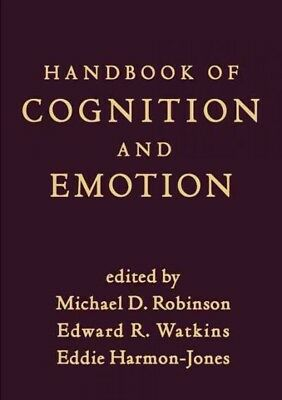 Handbook of Cognition and Emotion, Hardcover by Robinson,