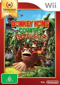 Donkey Kong Country Returns Selects  - Wii game - BRAND NEW