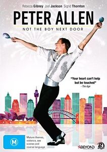 PETER ALLEN : Not The Boy Next Door : NEW DVD