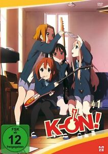 K-On! - Komplettset (Volume 01-04 ) DVD NEU