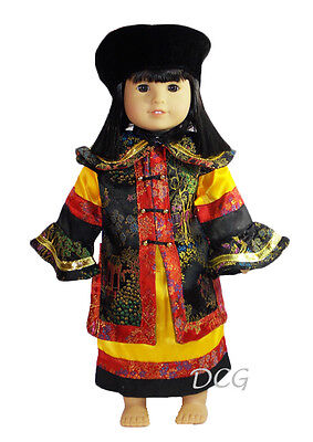 """ROSA CHINESE EMPRESS DRESS Outfit for American Girl 18"""" Dolls Ivy Asian NEW"""