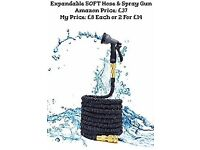 EXPANDABLE 50ft HOSE & SPRAY GUN