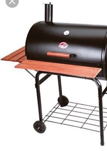 PRO LARGE CHARCOAL SMOKER GRILL BBQ