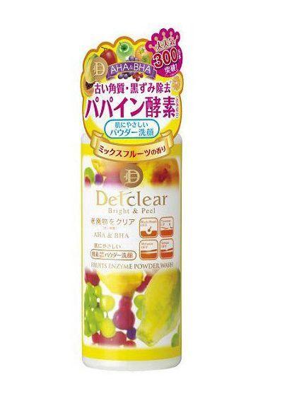 MEISHOKU DETCLEAR BRIGHT&PEEL FRUITS ENZYME POWDER WASH 75G