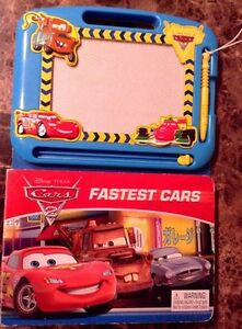 Disney Cars Book and Doodle Board