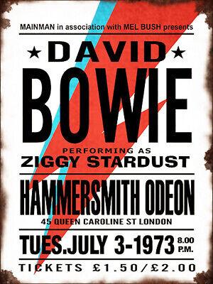 A0 A1 A2 A3 A4 David Bowie Shhh Vintage CANVAS Art Print