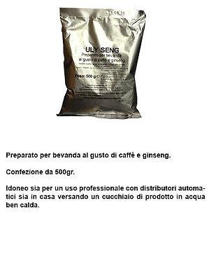 Caffè gusto ginseng solubile per uso pofessionale BAR - 2 confezioni da 500 gr.