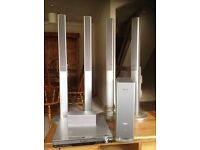Panasonic home cineman DVD surround sound system. All in perfect working order.