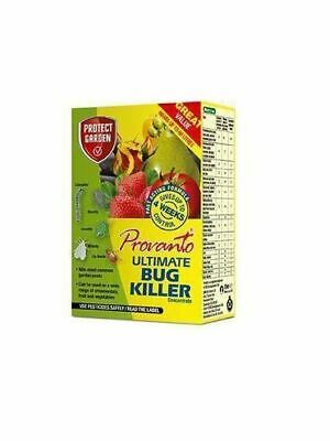 6 Provanto Ultimate Bug Fly Killer Concentrate 30ml Pest Control Makes 60 Litres