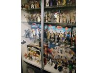 STAR WARS WANTED vintage old or new toys, action figures, ships, lightsabers mr efx lego playsets