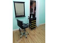 Ilford, High Road. Barbers shop available, immediate let £115/wk, inclusive.