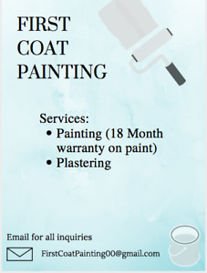 Painting Services (18 Month warranty)