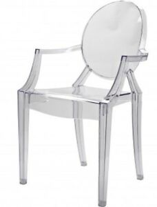 Ghost arm chairs