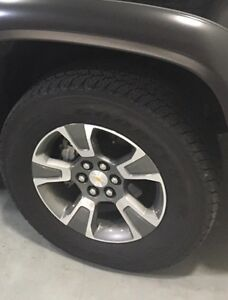 BRAND NEW CHEVY COLORADO/CANYON RIM & TIRE PACKAGE