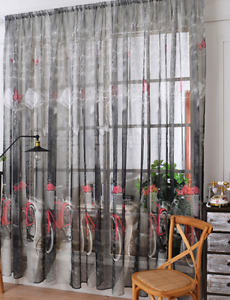 Bicycle decor - curtains