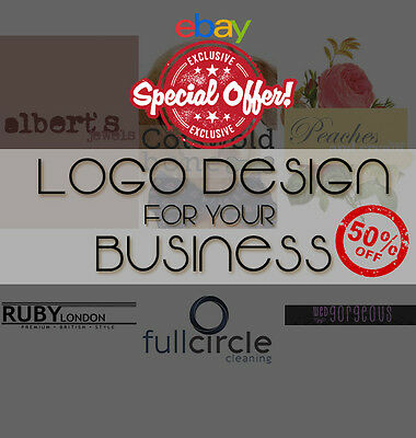 Bespoke Logo Design + Unlimited Revisions. Cheap, Fast & Professional - SALE