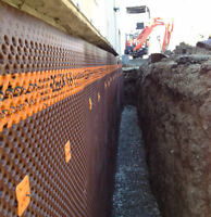 TORONTO'S RELIABLE DRAIN AND WATERPROOFING EXPERTS 647-998-6949