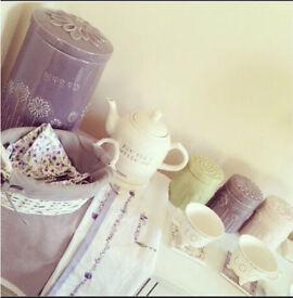 Kitchenware set from Next Home kettle toaster storage tea coffee sugar breadbin