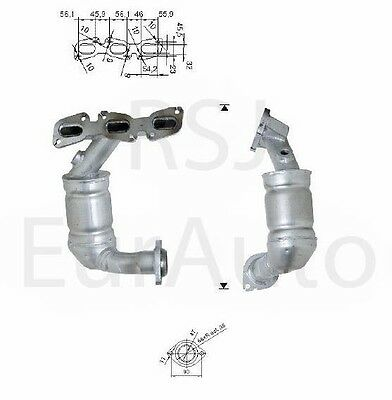 Approved Petrol Exhaust Catalytic Converter