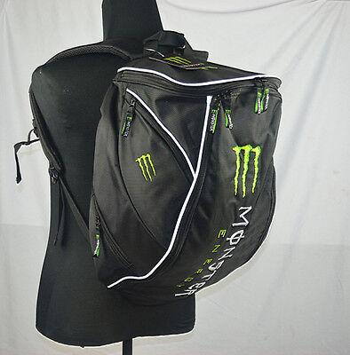 Aiptasia Monster Style 20-35L Motorcycle Motocross Bike Backpack Rucksack Bag UK