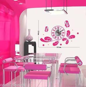 Adhesivo Papel Decorativo Arte Paredes Grande Rosa