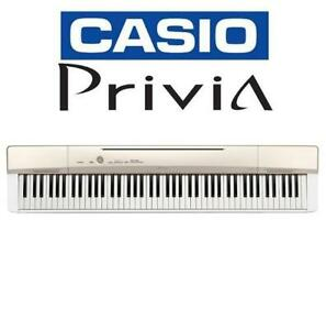 NEW* CASIO PRIVIA DIGITAL PIANO PX160GD 243015966 KEYBOARD CHAMPAGNE