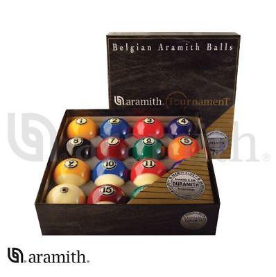 Belgian Aramith Contest Pool Table Balls Billiard Ball Set DURAMITH TECH -NEW