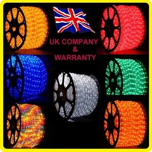 1-5-48M-BLUE-White-LED-Ribbon-Strips-Rope-Lights-Yellow-Orange-Red-Green-inc-VAT