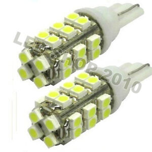 10-X-T10-White-28-SMD-LED-168-194-W5W-Wedge-Light-Bulb-Lamp-12V-for-Car-Light