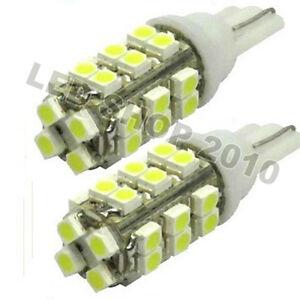 50pcs-T10-White-28-SMD-LED-168-194-W5W-Wedge-Light-lamp-12V-for-Car-Light