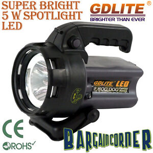 RECHARGEABLE SUPER BRIGHT LED 2.8m TORCH WORK FLASHLIGHT SPOTLIGHT LIGHT LAMP
