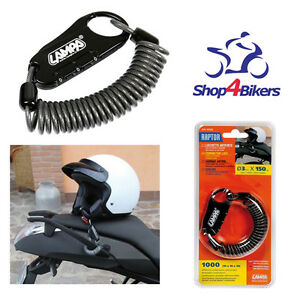 Motorcycle-motorbike-cycle-helmet-combination-lock-cable-free-P-P