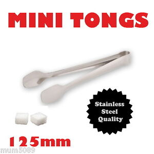 MINI-SUGAR-TONGS-125mm-Candy-Buffet-Lolly-Bar-Wedding-Table-Small-Scoop-SS
