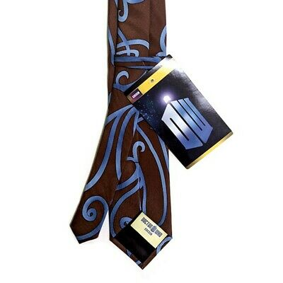 Doctor Who BBC TV Series Tenth 10th Doctor Elope SWIRLY NECKTIE Costume Cosplay