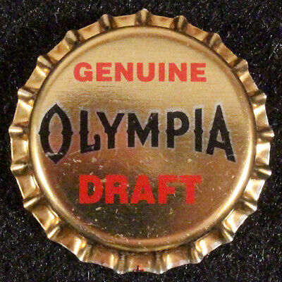 OLYMPIA PLASTIC LINED BEER BOTTLE CAP #18 TUMWATER WASHINGTON OLY CROWN~~VINTAGE