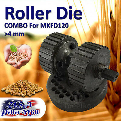 Combo Roller Die For Pellet Mill Mkfd120 - Usa Free Shipping