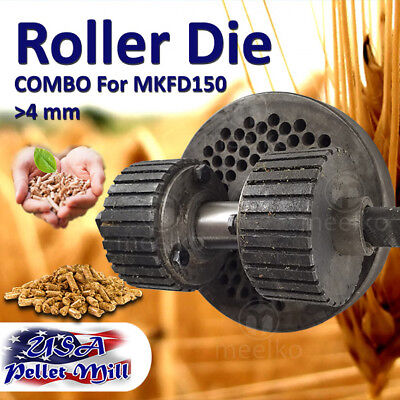 Combo Roller Die For Pellet Mill Mkfd150 - Usa Free Shipping