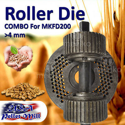 Combo Roller Die For Pellet Mill Mkfd200 - Usa Free Shipping