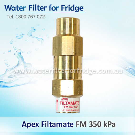 FM350    Filtamate® - Pressure Limiting Valve