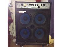 ASHDOWN MAG300, 300watt bass amp. £200.