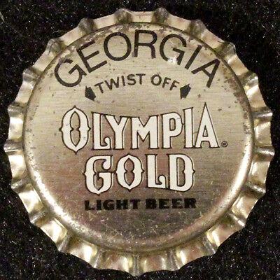 OLYMPIA GEORGIA PLASTIC BEER BOTTLE CAP 10 TUMWATER WASHINGTON OLY CROWN~VINTAGE