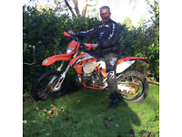 KTM250EXC 2015 with Akropovic, Surrey, £3950.00