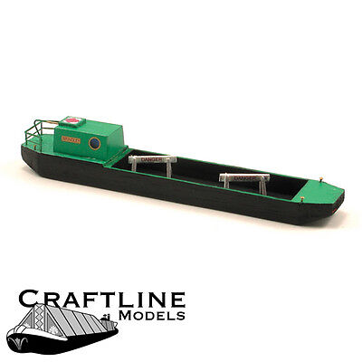 72ft Holiday Canal Boat Canal Narrow Boat F5c UNPAINTED OO Scale Models Kit