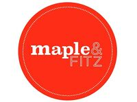 MAPLE&FITZ is looking for Kitchen Staff/ Commi Chef- Team Member !!