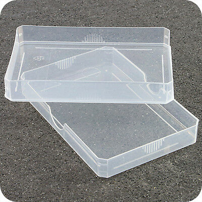ATC PLASTIC STORAGE BOX PLAYING CARDS CASE BUSINESS CARD HOLDER BOXES CASE + LID