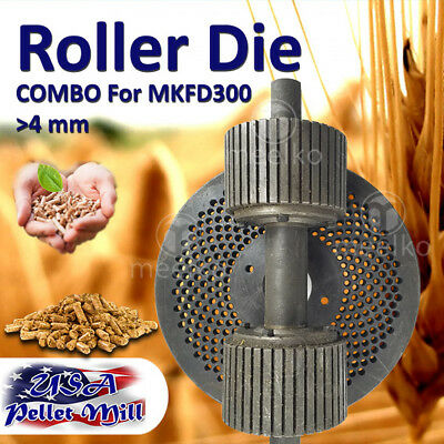 Combo Roller Die For Pellet Mill Mkfd300 - Usa Free Shipping